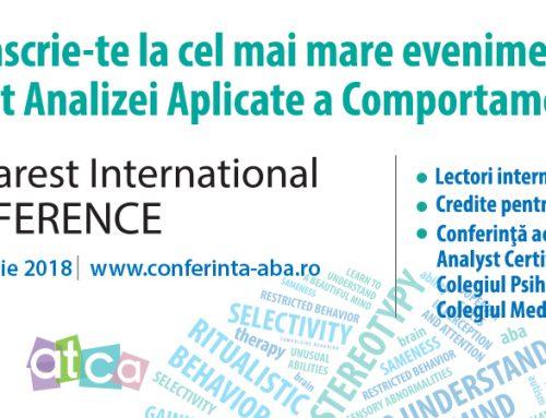 Conferința Internațională ABA 2018, ediția a VII-a